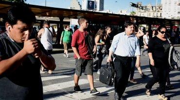 El centro de las manifestaciones fue el puente Pueyrredón, donde dirigentes del movimiento que dirige Sala realizaron un acto