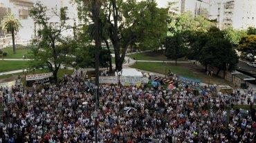 Para conmemorar aquella histórica movilización, el mismo grupo de fiscales y empleados del Poder Judicial que impulsó ese acto llamó ahora a una nueva marcha por la verdad, la memoria y la justicia