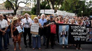 Se cumple un año de la masiva marcha del #18F en homenaje a Alberto Nisman