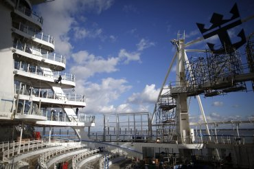 El Harmony of the Seas dispone de 16 cubiertas