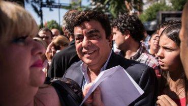 El presidente del PJ Bonaerense, Fernando Espinoza