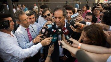 El ex gobernador de la provincia de Buenos Aires Daniel Scioli