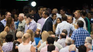 El ex candidato a Presidente Daniel Scioli