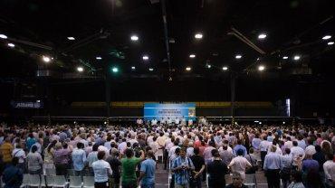 El Partido Justicialista se reunió en Obras Sanitarias para debatir su futuro