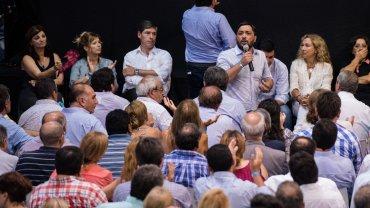 La mayoría de las voces que hablaron durante el congreso coincidieron en la necesidad de conformar una lista de unidad para las elecciones del 8 de mayo
