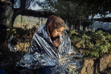 Lesbos, Grecia. 18 de Octubre de 2015
