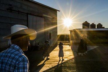 En México, los agricultores menonitas lucha con la escasez de agua