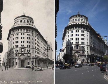 Antiguo Banco de Boston ubicado en el microcentro porteño que hoy es el banco ICBC