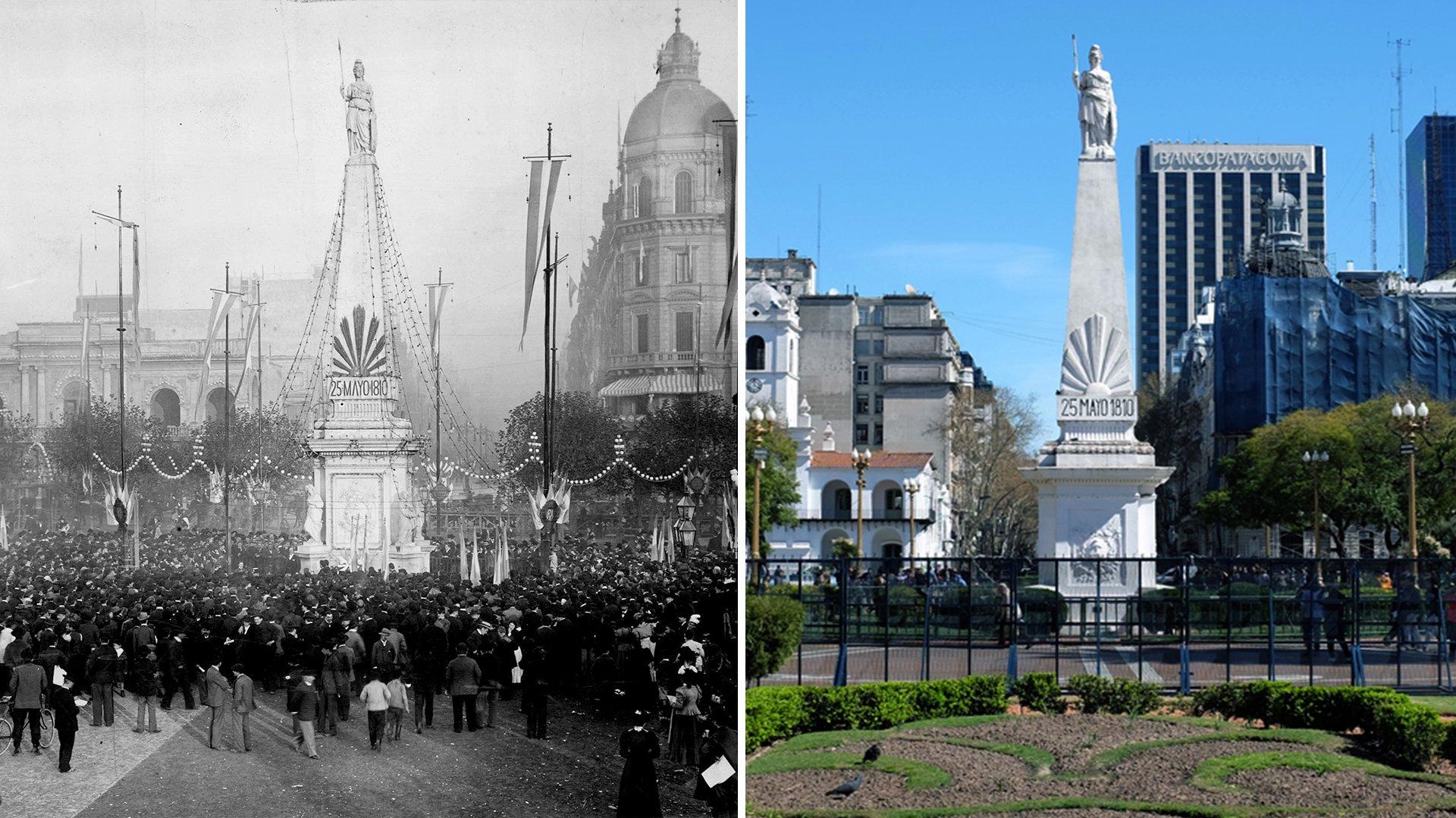 Buenos Aires ayer y hoy, la ciudad luego de más de un siglo