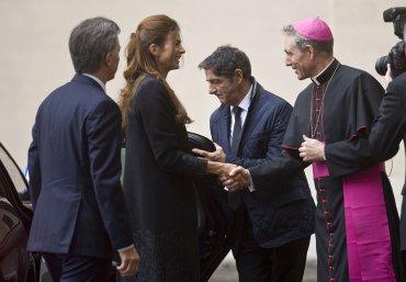 El presidente Macri llegó ayer a Roma para entrevistarse con el papa Francisco, en un encuentro pautado a agenda abierta