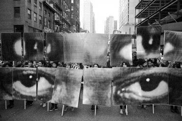 Marchas contra los homicidios de la policía y los disturbios raciales en Nueva York, EEUU, porSaundi Wilson