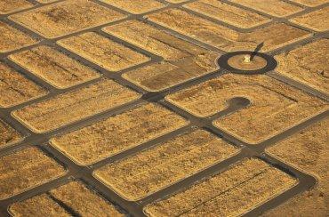 Imagena aerea tomada en Rio Vista, California por Jassen Todorov