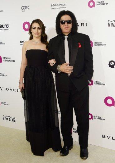 Gene Simmons junto a su hija Sophie