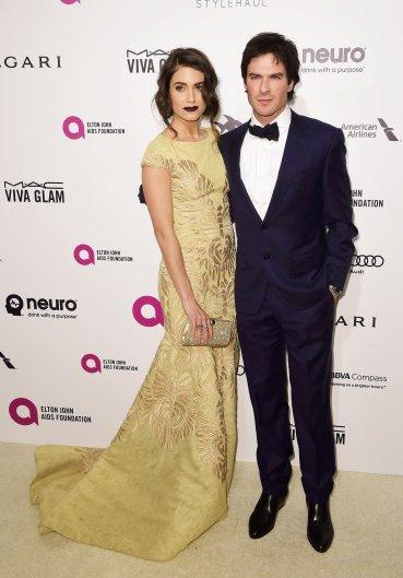 Ian Somerhalder y su mujer Nikki Reed