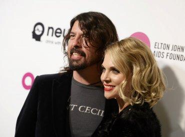 Dave Grohl y su mujer Jordyn