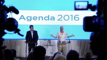 Sergio Massa y Margarita Stolbizer presentaron su alianza con una agenda legislativa en común para 2016