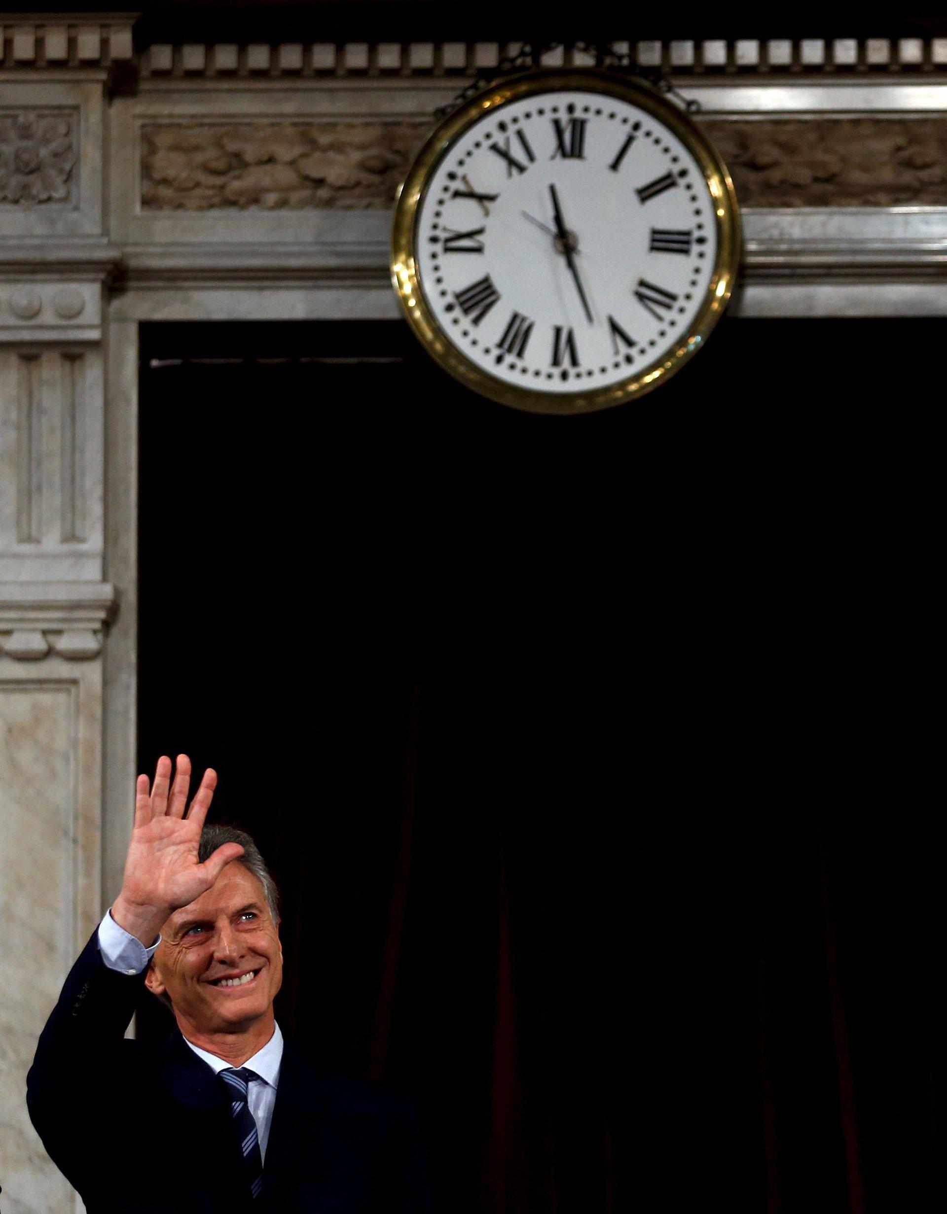 El presidente Mauricio Macri brindó este martes 1° de marzo su  primer discurso de apertura de sesiones ordinarias ante el Congreso de  la Nación luego de asumir como presidente en diciembre de 2015