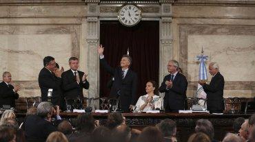 Macri abrió las sesiones con críticas al kirchnerismo y promesas de cambio