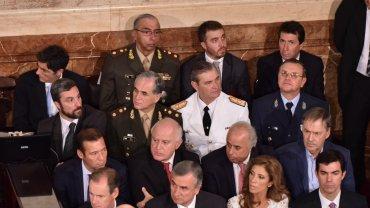 Gobernadores y altos mandos de las Fuerzas Armadas