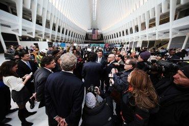 Esta infraestructura es importante porque va a ser el áncora y el motor de desarrollo de todo el bajo Manhattan, dijo el arquitecto, que se confesó orgulloso y satisfecho