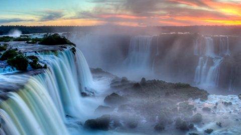 Cataratas del Iguazú, en la provincia de Misiones, es un lugar maravilloso para visitar.