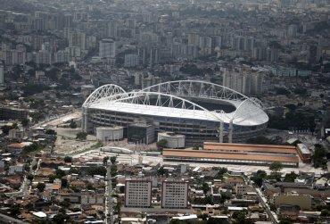 El estadio Nilton Santos (Engenhao)