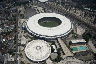 Vista aérea del estadio Maracana (Mario Filho)