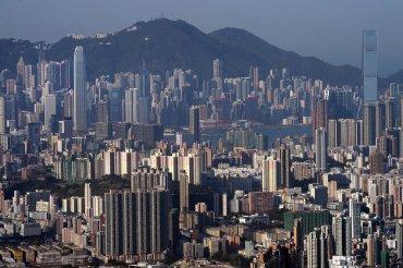 El horizonte de Hong Kong, fotografiado el 14 de abril del 2015