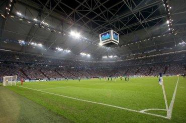 El Veltins-Arena, antes llamado Arena auf Schalke, está ubicado en la ciudad de Gelsenkirchen, en el estado federal de Renania del Norte-Westfalia al noroeste de Alemania.
