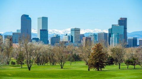 Denver es apodada The Mile High City.