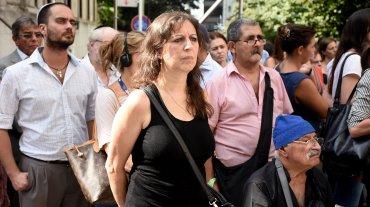 Autoridades comunitarias, funcionarios argentinos y familiares reclamaron el esclarecimiento del atentado