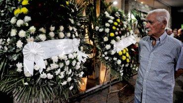 Son velados los restos de Roberto Perfumo