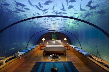 Jules Undersea Lodge, Estados Unidos:Es una cabina de acero y acrílico de 300 metros cuadrados sumergida a 10 metros de profundidad con capacidad para seis personas