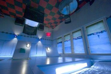Propeller Island City Lodge, Berlín, Alemania:45 suites temáticas, una más rara que la otra, creadas por el artista Lars Stroschen con espíritu surrealista