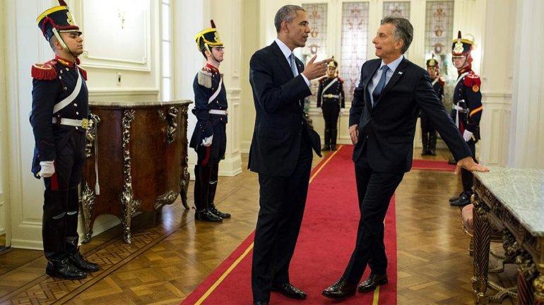 El presidente Barack Obama le anticipó al presidente Mauricio Macri la decisión de facilitar el fin del conflicto con los holdouts
