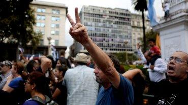 Organismos de derechos humanos y partidos de izquierda partieron desde el Congreso