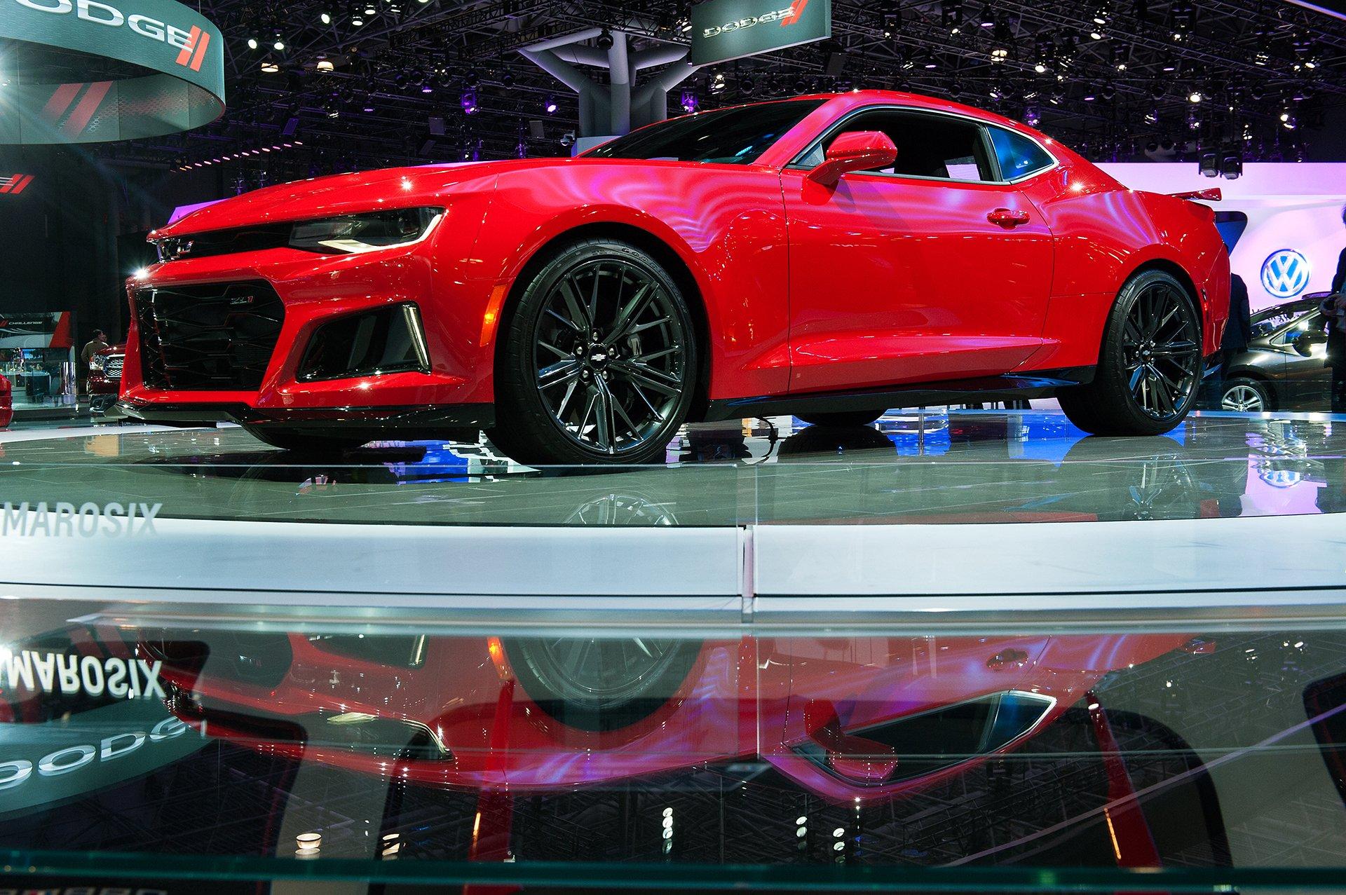ChevroletCamaro ZL1 2017, cuenta con un motor V8 que genera 640 caballos de fuerza