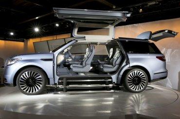 El nuevo concept Lincoln Navigator