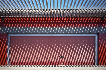Ganador, teléfono móvil: El rojo de China. Fotografiado por Jian Wang