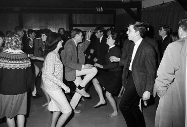 La juventud bailando enSunset Strip, Los Angeles
