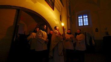 Una de las ceremonias más solemnes y cargadas de simbología de la Semana Santa