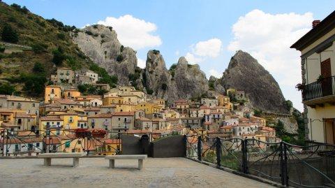 Pietrapertosa es sin dudas uno de los pueblos más maravillosos de toda Italia.