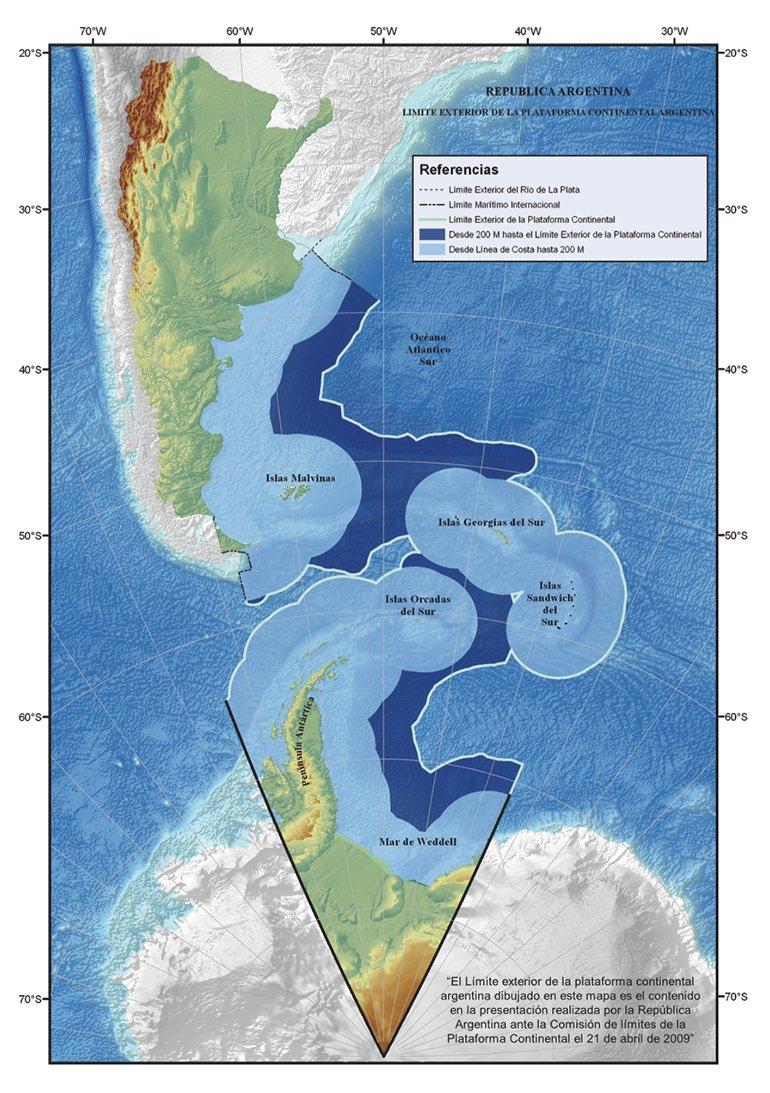 Por un fallo de la ONU, Argentina extiende su plataforma continental 0014486869