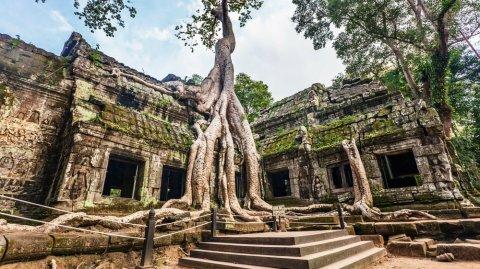 Angkor sirvió como locación en películas de Hollywood como Tomb Raider o Indiana Jones,