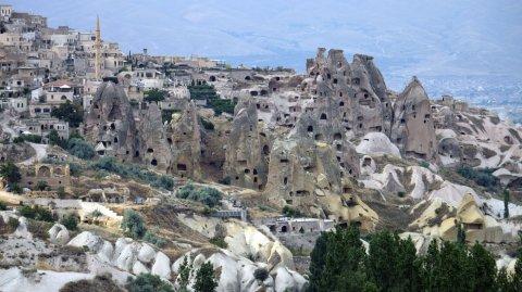 Goreme forma parte de la lista de Patrimonio Mundial de la UNESCO desde el año 1984.