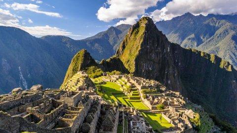 Machu Picchu es una ciudad inca del siglo XV.