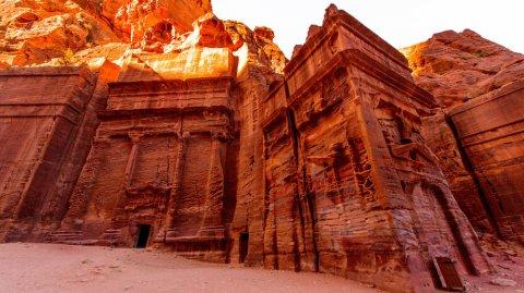 La antigua ciudad de Petra fue escenario de películas como Indiana Jones, Mortal Kombat y La Momia.