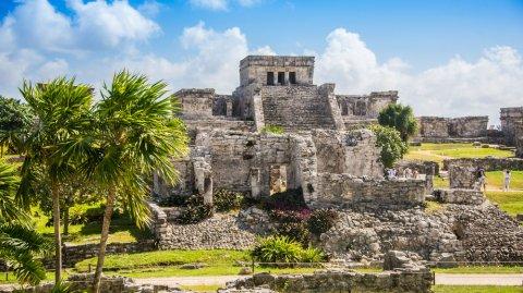 La ciudad maya de Tulum es uno de los principales destino turísticos internacionales.