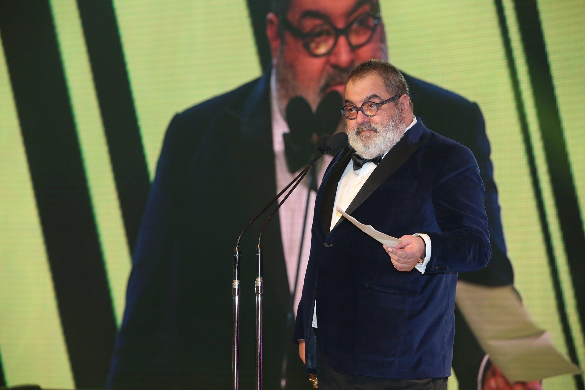 Jorge Lanata, el periodista multipremiado en la noche de los Martín Fierro, pronunció tres discursos de fuerte contenido político que fue lo más comentado de la noche.