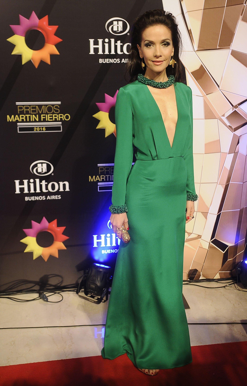 Natalia Orerio lució un vestido del diseñador Emilio Pucci